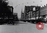 Image of Traffic on streets of Detroit Detroit Michigan USA, 1917, second 12 stock footage video 65675031040