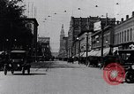 Image of Traffic on streets of Detroit Detroit Michigan USA, 1917, second 13 stock footage video 65675031040