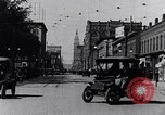 Image of Traffic on streets of Detroit Detroit Michigan USA, 1917, second 14 stock footage video 65675031040