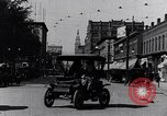 Image of Traffic on streets of Detroit Detroit Michigan USA, 1917, second 15 stock footage video 65675031040