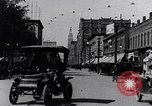 Image of Traffic on streets of Detroit Detroit Michigan USA, 1917, second 16 stock footage video 65675031040