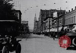 Image of Traffic on streets of Detroit Detroit Michigan USA, 1917, second 17 stock footage video 65675031040