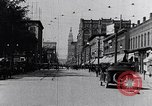 Image of Traffic on streets of Detroit Detroit Michigan USA, 1917, second 19 stock footage video 65675031040