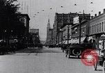 Image of Traffic on streets of Detroit Detroit Michigan USA, 1917, second 20 stock footage video 65675031040
