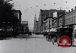 Image of Traffic on streets of Detroit Detroit Michigan USA, 1917, second 21 stock footage video 65675031040