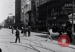 Image of Traffic on streets of Detroit Detroit Michigan USA, 1917, second 22 stock footage video 65675031040