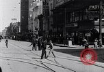 Image of Traffic on streets of Detroit Detroit Michigan USA, 1917, second 23 stock footage video 65675031040