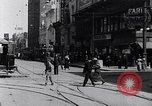 Image of Traffic on streets of Detroit Detroit Michigan USA, 1917, second 24 stock footage video 65675031040