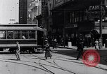 Image of Traffic on streets of Detroit Detroit Michigan USA, 1917, second 25 stock footage video 65675031040