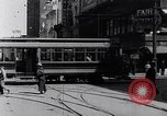 Image of Traffic on streets of Detroit Detroit Michigan USA, 1917, second 26 stock footage video 65675031040