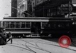 Image of Traffic on streets of Detroit Detroit Michigan USA, 1917, second 27 stock footage video 65675031040