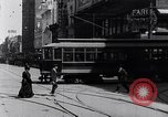 Image of Traffic on streets of Detroit Detroit Michigan USA, 1917, second 28 stock footage video 65675031040