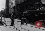 Image of Traffic on streets of Detroit Detroit Michigan USA, 1917, second 29 stock footage video 65675031040