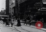 Image of Traffic on streets of Detroit Detroit Michigan USA, 1917, second 30 stock footage video 65675031040