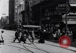 Image of Traffic on streets of Detroit Detroit Michigan USA, 1917, second 31 stock footage video 65675031040