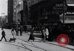 Image of Traffic on streets of Detroit Detroit Michigan USA, 1917, second 32 stock footage video 65675031040