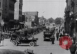 Image of Traffic on streets of Detroit Detroit Michigan USA, 1917, second 33 stock footage video 65675031040