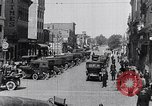 Image of Traffic on streets of Detroit Detroit Michigan USA, 1917, second 34 stock footage video 65675031040