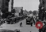 Image of Traffic on streets of Detroit Detroit Michigan USA, 1917, second 35 stock footage video 65675031040