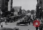 Image of Traffic on streets of Detroit Detroit Michigan USA, 1917, second 36 stock footage video 65675031040