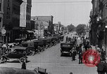Image of Traffic on streets of Detroit Detroit Michigan USA, 1917, second 37 stock footage video 65675031040