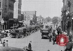 Image of Traffic on streets of Detroit Detroit Michigan USA, 1917, second 38 stock footage video 65675031040