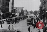 Image of Traffic on streets of Detroit Detroit Michigan USA, 1917, second 39 stock footage video 65675031040