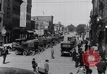 Image of Traffic on streets of Detroit Detroit Michigan USA, 1917, second 40 stock footage video 65675031040