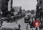 Image of Traffic on streets of Detroit Detroit Michigan USA, 1917, second 41 stock footage video 65675031040