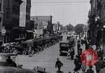 Image of Traffic on streets of Detroit Detroit Michigan USA, 1917, second 42 stock footage video 65675031040