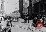 Image of Traffic on streets of Detroit Detroit Michigan USA, 1917, second 43 stock footage video 65675031040