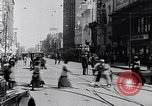 Image of Traffic on streets of Detroit Detroit Michigan USA, 1917, second 44 stock footage video 65675031040