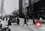 Image of Traffic on streets of Detroit Detroit Michigan USA, 1917, second 45 stock footage video 65675031040