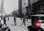 Image of Traffic on streets of Detroit Detroit Michigan USA, 1917, second 46 stock footage video 65675031040
