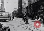 Image of Traffic on streets of Detroit Detroit Michigan USA, 1917, second 47 stock footage video 65675031040