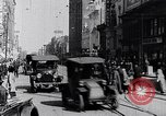 Image of Traffic on streets of Detroit Detroit Michigan USA, 1917, second 50 stock footage video 65675031040