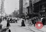 Image of Traffic on streets of Detroit Detroit Michigan USA, 1917, second 54 stock footage video 65675031040