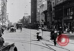 Image of Traffic on streets of Detroit Detroit Michigan USA, 1917, second 55 stock footage video 65675031040