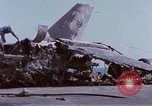 Image of USS Enterprise fire Pearl Harbor Hawaii USA, 1969, second 19 stock footage video 65675031048