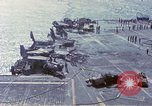 Image of USS Enterprise fire Pearl Harbor Hawaii USA, 1969, second 31 stock footage video 65675031048