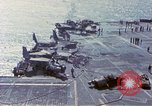 Image of USS Enterprise fire Pearl Harbor Hawaii USA, 1969, second 35 stock footage video 65675031048