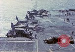 Image of USS Enterprise fire Pearl Harbor Hawaii USA, 1969, second 36 stock footage video 65675031048
