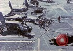 Image of USS Enterprise fire Pearl Harbor Hawaii USA, 1969, second 42 stock footage video 65675031048