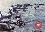 Image of USS Enterprise fire Pearl Harbor Hawaii USA, 1969, second 49 stock footage video 65675031048