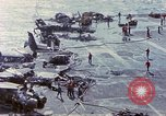 Image of USS Enterprise fire Pearl Harbor Hawaii USA, 1969, second 52 stock footage video 65675031048