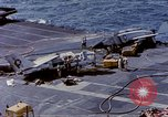 Image of USS Enterprise fire Pearl Harbor Hawaii USA, 1969, second 53 stock footage video 65675031048