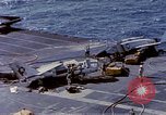 Image of USS Enterprise fire Pearl Harbor Hawaii USA, 1969, second 57 stock footage video 65675031048
