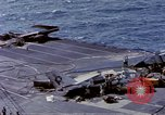 Image of USS Enterprise fire Pearl Harbor Hawaii USA, 1969, second 58 stock footage video 65675031048
