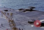 Image of USS Enterprise fire Pearl Harbor Hawaii USA, 1969, second 59 stock footage video 65675031048