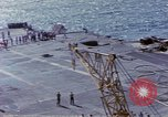 Image of USS Enterprise fire Pearl Harbor Hawaii USA, 1969, second 60 stock footage video 65675031048